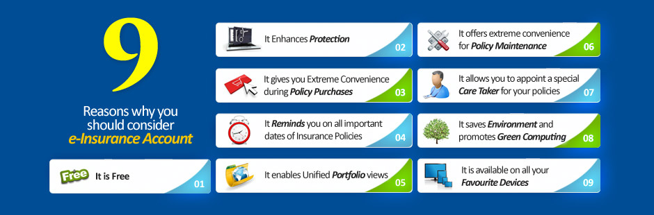 Karvy Insurance Repository - Demat your insurance policies